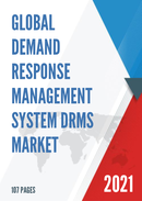 Global Demand Response Management System DRMS Market Size Status and Forecast 2021 2027