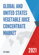 Global and United States Vegetable Juice Concentrate Market Insights Forecast to 2027