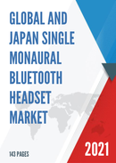 Global and Japan Single Monaural Bluetooth Headset Market Insights Forecast to 2027