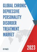 Global Chronic Depressive Personality Disorder Treatment Market Size Status and Forecast 2021 2027