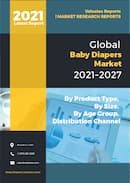Baby Diapers Market by Product Type Cloth Diapers and Disposable Diapers Size Small Extra Small S XS Medium M Large L and Extra Large XL By Age Group Infants 0 6 Months Babies Young Toddlers 6 18 Months Toddlers 18 24 Months and Children Above 2 Years and By Distribution Channel Hypermarket Supermarket Convenience Stores Pharmacy Drug Stores Online Sales Channel and Others Global Opportunity Analysis and Industry Forecast 2021 2027