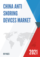 China Anti snoring Devices Market Report Forecast 2021 2027