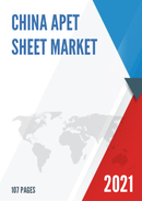 China APET Sheet Market Report Forecast 2021 2027