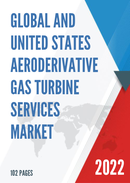 Global Aeroderivative Gas Turbine Services Market Size Status and Forecast 2021 2027