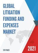 Global Litigation Funding and Expenses Market Size Status and Forecast 2021 2027