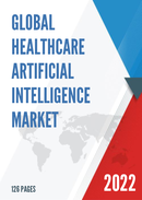 Global Healthcare Artificial Intelligence Market Size Status and Forecast 2021 2027