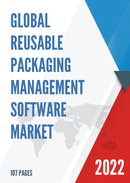 Global Reusable Packaging Management Software Market Size Status and Forecast 2021 2027