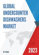 Global and United States Undercounter Dishwashers Market Insights Forecast to 2027
