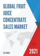 Global Fruit Juice Concentrate Sales Market Report 2021
