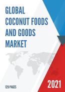 Global Coconut Foods and Goods Market Size Status and Forecast 2021 2027