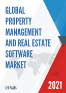 Global Property Management and Real Estate Software Market Size Status and Forecast 2021 2027