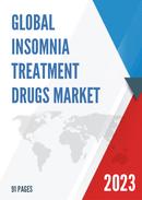 Global Insomnia Treatment Drugs Market Size Status and Forecast 2021 2027