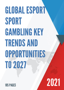 Global Esport Sport Gambling Key Trends and Opportunities to 2027