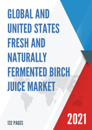Global and United States Fresh and Naturally Fermented Birch Juice Market Insights Forecast to 2027