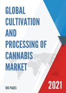 Global Cultivation and Processing of Cannabis Market Size Status and Forecast 2021 2027