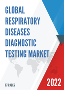 Global Respiratory Diseases Diagnostic Testing Market Size Status and Forecast 2021 2027