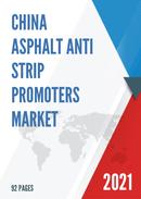 China Asphalt Anti strip Promoters Market Report Forecast 2021 2027