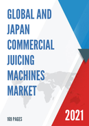 Global and Japan Commercial Juicing Machines Market Insights Forecast to 2027