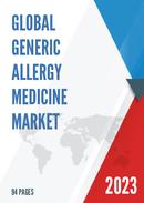 Global Generic Allergy Medicine Market Size Status and Forecast 2021 2027