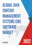 Global Java Content Management Systems CMS Software Market Size Status and Forecast 2021 2027