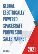 Global Electrically Powered Spacecraft Propulsion Sales Market Report 2021