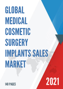 Global Medical Cosmetic Surgery Implants Sales Market Report 2021