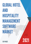 Global Hotel and Hospitality Management Software Market Size Status and Forecast 2021 2027