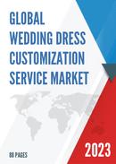 Global Wedding Dress Customization Service Market Size Status and Forecast 2021 2027