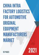 China Intra Factory Logistics for Automotive Original Equipment Manufacturers Market Report Forecast 2021 2027