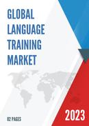 Global Language Training Market Size Status and Forecast 2021 2027