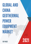 Global and China Geothermal Power Equipment Market Insights Forecast to 2027