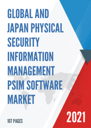 Global and Japan Physical Security Information Management PSIM Software Market Size Status and Forecast 2021 2027