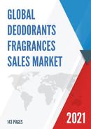 Global Deodorants Fragrances Sales Market Report 2021