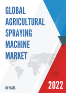 Global and China Agricultural Spraying Machine Market Insights Forecast to 2027