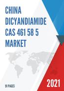 China Dicyandiamide CAS 461 58 5 Market Report Forecast 2021 2027