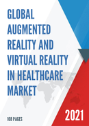 Global Augmented Reality and Virtual Reality in Healthcare Market Size Status and Forecast 2021 2027