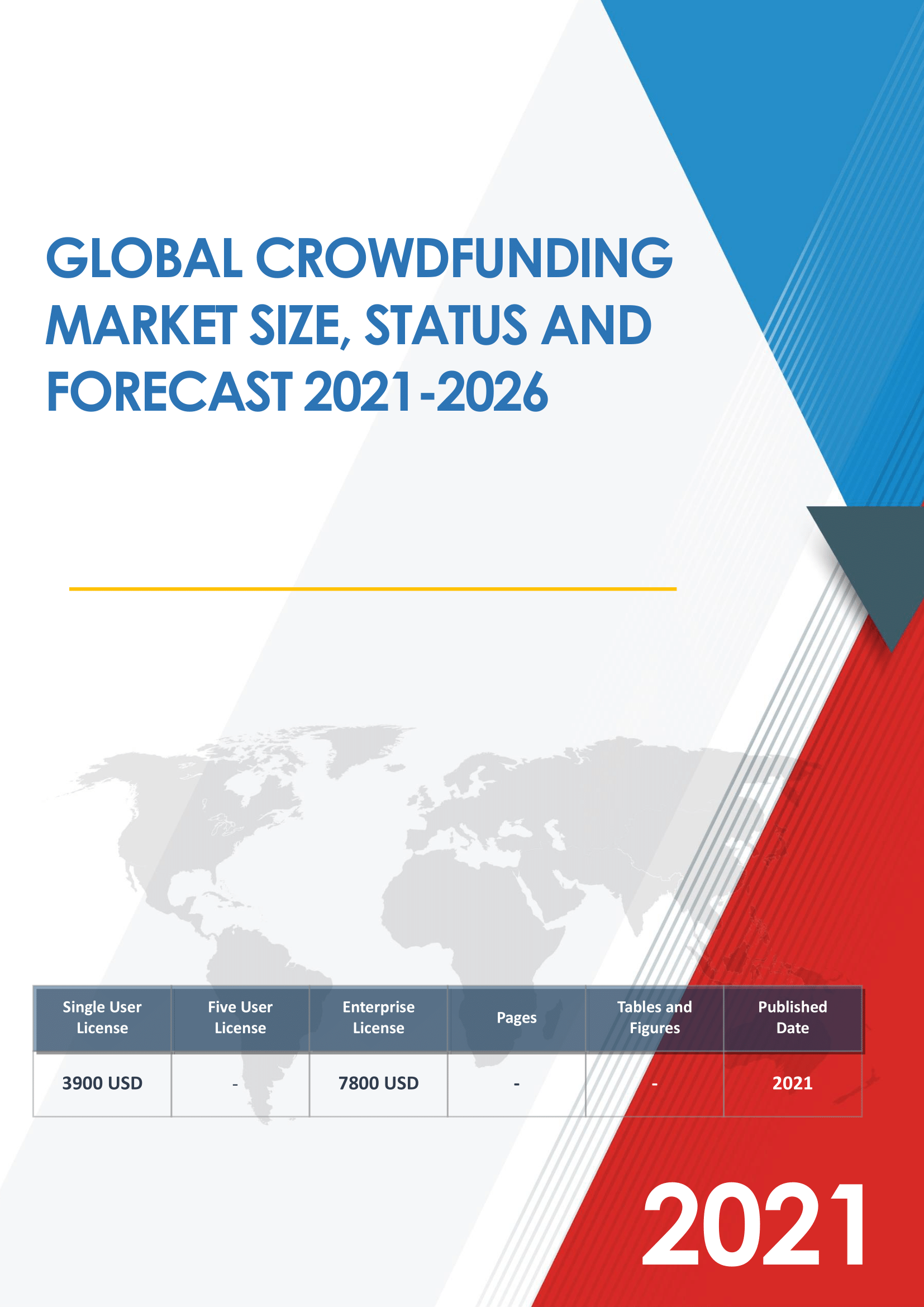Global Crowdfunding Market Size Status and Forecast 2021 to 2027