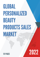 Global Personalized Beauty Products Sales Market Report 2021