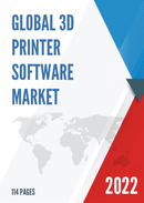 Global 3D Printer Software Market Size Status and Forecast 2021 2027