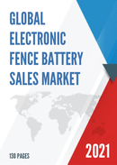 Global Electronic Fence Battery Sales Market Report 2021