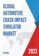 China Automotive Crash Impact Simulator Market Report Forecast 2021 2027