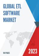 Global ETL Software Market Size Status and Forecast 2021 2027