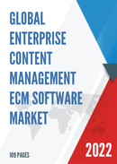 Global Enterprise Content Management ECM Software Market Size Status and Forecast 2021 2027