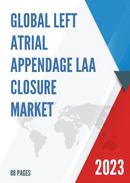 Global Left Atrial Appendage LAA Closure Market Size Status and Forecast 2021 2027