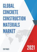 Global Concrete Construction Materials Market Size Manufacturers Supply Chain Sales Channel and Clients 2021 2027