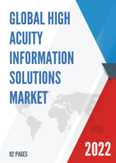 Global High Acuity Information Solutions Market Size Status and Forecast 2021 2027