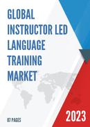 Global Instructor led Language Training Market Size Status and Forecast 2021 2027