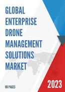 Global Enterprise Drone Management Solutions Market Size Status and Forecast 2021 2027