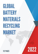 Global Battery Materials Recycling Market Size Status and Forecast 2021 2027