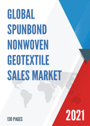 Global Spunbond Nonwoven Geotextile Sales Market Report 2021
